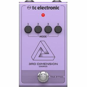 Tc Electronic Pedal 3rd Dimension Chorus True Bypass