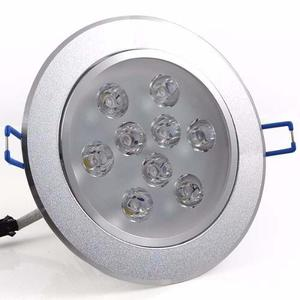 Lampara Led 9w Empotrado Dirigible Bote Integral 11 Cm 12 Cm
