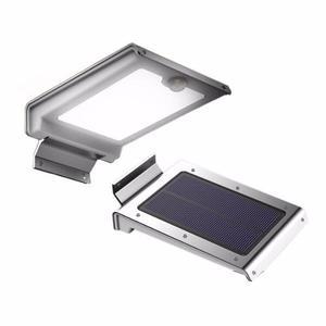 Lampara Solar 46 Led Aluminio Prende Toda La Noche