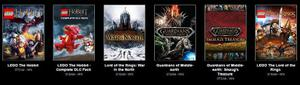 Lord Of The Rings Bundle - Lego The Hobbit +dlc - Pc Steam