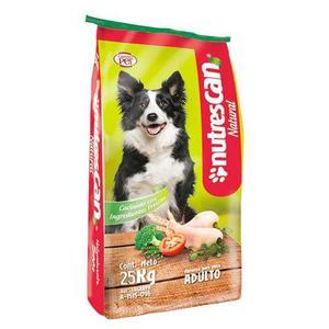 Nutrescan Natural Adulto Alimento Para Perro Bulto 25kg