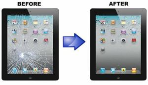 Reparacion Cristal Touch Ipad 2,3,4