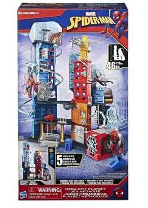 Spider Man Juego De Mega Ciudad 46 Cm Hasbro