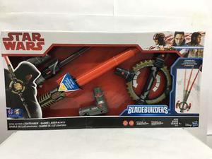 Star Wars Sable De Luz Giratorio Bladebuilders Hasbro