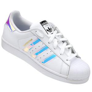 Tenis adidas Superstar Tornasol Iridescent Aq Originale