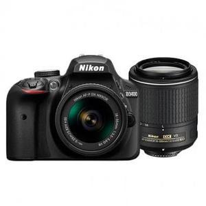 Camara Nikon D Reflex Kit Dos Lentes  Y