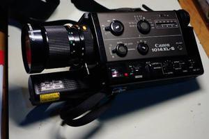 Cámara Canon  Xl-s Super 8mm Film