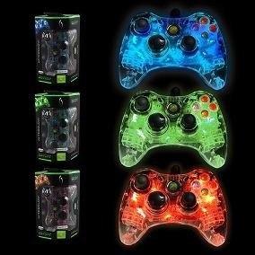 Control Afterglow Prismatic Alambrico Xbox 360 A Colores