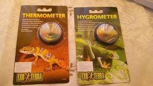 Exo Terra Combo Termometro Higrometro Terrario Reptiles