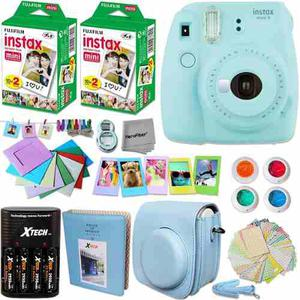Kit Cámara Instax Mini 9 Fujifilm Con Mas De 6 Accesorios