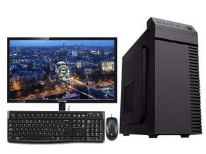 Pc Completa Intel Celeron J Dual Core 4gb 500gb Monitor