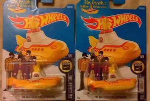 Hot Wheels 1 Submarino Beatles Amarillo Envio Gratis