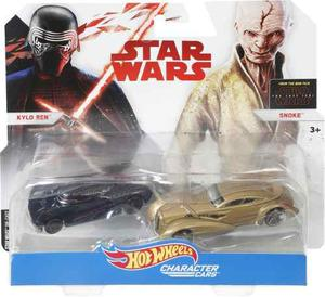 Hot Wheels Star Wars Kylo Ren Y Snoke