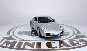 Porsche 911 Carrera 4s Silver 1/18 Maisto Autos Escala Metal