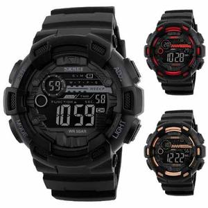 Reloj Militar Sport Navy Seal 3 Colores Sumergible 50m Skmei