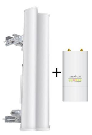 Sectorial 2.4 Ghz dbi Am2g + Rocket M2 2.4 Ghz