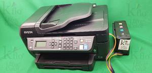 Epson Wf- + Sistema De Tinta Continua Tinta Para Couche