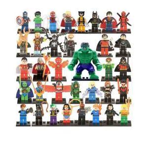 Figuras Super Heroes Marvel Dc Dragon Ball Lego Compatibles