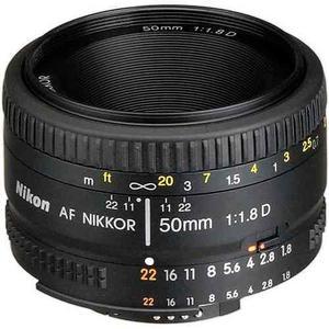 Lente Nikon Af Nikkor 50mm F/1.8d Nuevo