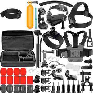Sony Action Cam Kit 50 En 1 Accesorios Camara Muy Completo!