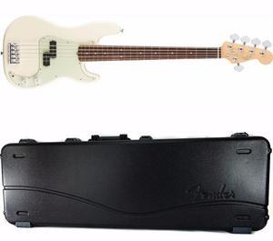Bajo Fender American Pro Precision Bass V 5 Cuerdas Bco+case