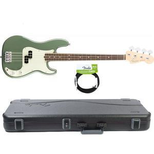 Bajo Fender American Pro Precision Usa Antique Olive+case