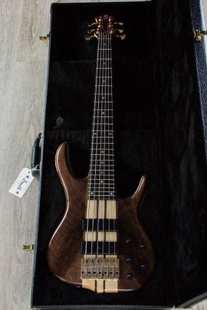 Ken Smith Bsr 6tn Bajo 6 Cuerdas Black Tiger  + Case