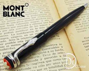 Pluma Montblac Heritage Rouge Serpiente Edicion Especial