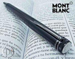 Pluma Montblanc Capless Rollerball Heritage  Negro