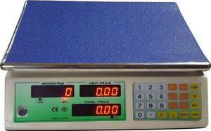 Bascula Digital 40kg Recargable Doble Pantalla Envio Gratis