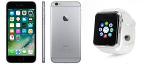 Celular Iphone 6 16 Gb Smart Watch A1 Reloj Inteligente