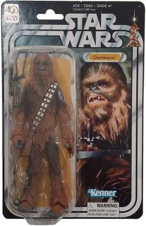 Chewbacca Star Wars 40 Aniversario Black Series Hasbro 6