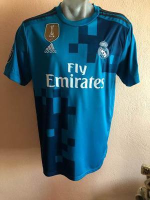 Jersey Playera Real Madrid Tercer Kid Champions League