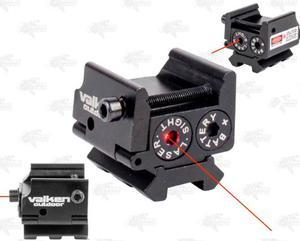 Mira Tactica Valken Laser Rojo Riel 20mm Gotcha Xtreme