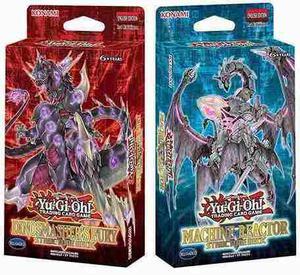 Yu-gi-oh! Machine Reactor & Dinomasher's Fury S. Deck