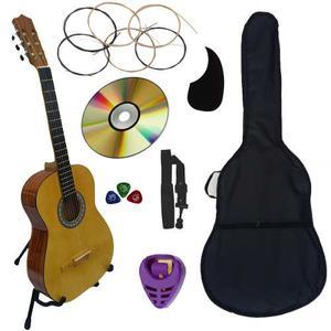 Guitarra Acustica Clasica Paquete Completo De Accesorios