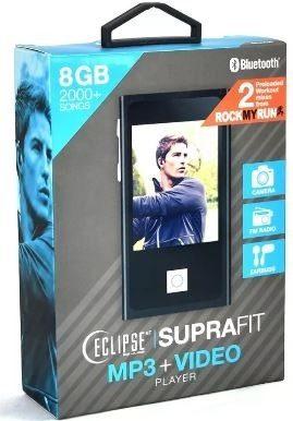 Reproductor Mp3 Y Mp4 Eclipse Suprafit 8gb Touch Y Camara