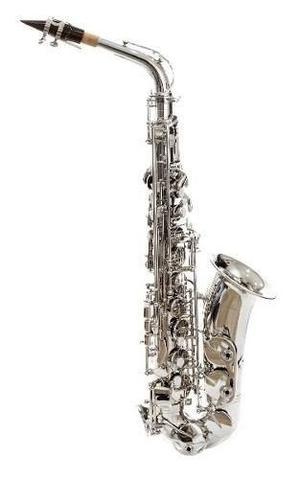 Saxofón Alto Eb Niquelado Silvertorne