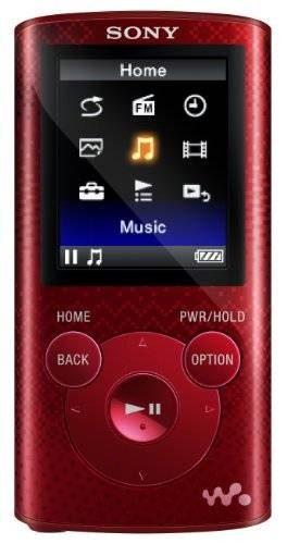 Sony Nwze Gb Mp3 Walkman Reproductor De Vídeo (rojo)