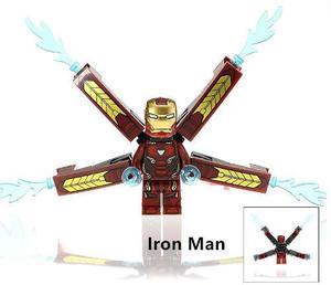 Iron Man Infinity War Iron Spider Lego Compatible Thanos