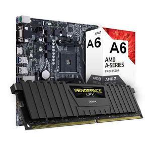 Kit De Actualizacion Amd A6 4gb Ddr4 Lpx Corisar Radeon R5