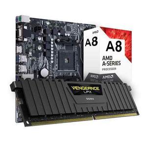 Kit De Actualizacion Amd A8 Quad Core 4gb Ddr4 Lpx Corisar