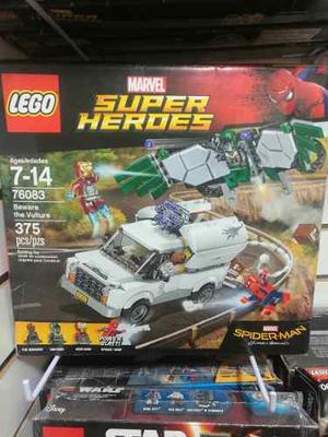 Lego Spiderman Homecoming Cuidado Con Vulture
