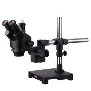 Microscopio Trinocular Amscope 3.5x A 90x Nuevo En Caja