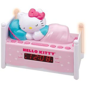 Radio Reloj Despertador Am/fm Hello Kitty Original Sanrio