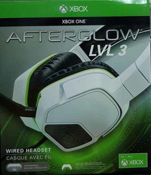 Afterglow Lvl 3 Headset Para Xbox One (3.5 Mm) Blanco