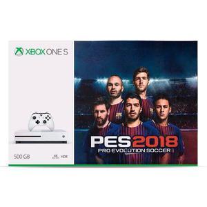 Consola Xbox One S 500 Gb + Pes 18 Nuevo