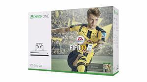¡¡¡ Consola Xbox One S 500gb Con Fifa 17 En Whole Games