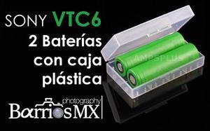 2-baterias Vtc6 Sony  Li-ion mah 30a