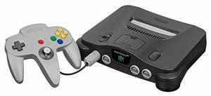 Consola Nintendo 64 - Negro (importación Japonesa)